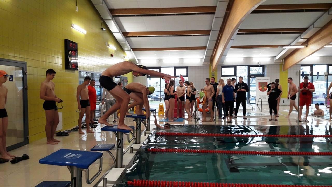Mistrzostwa Powiatu w pływaniu –Licealiada 2019/2020