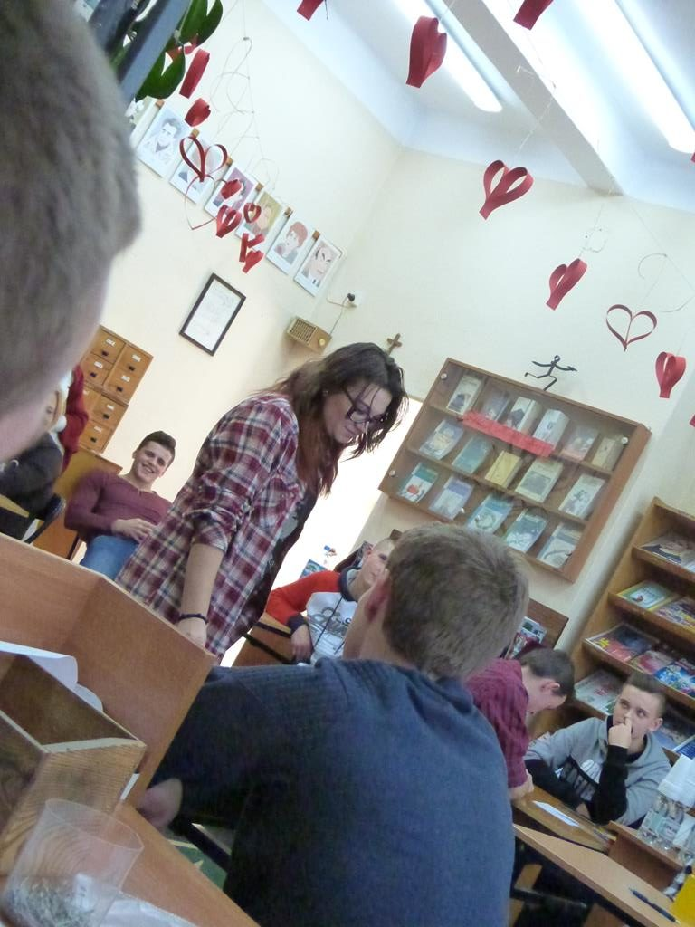 Czytelniczy Konkurs Walentynkowy 2017