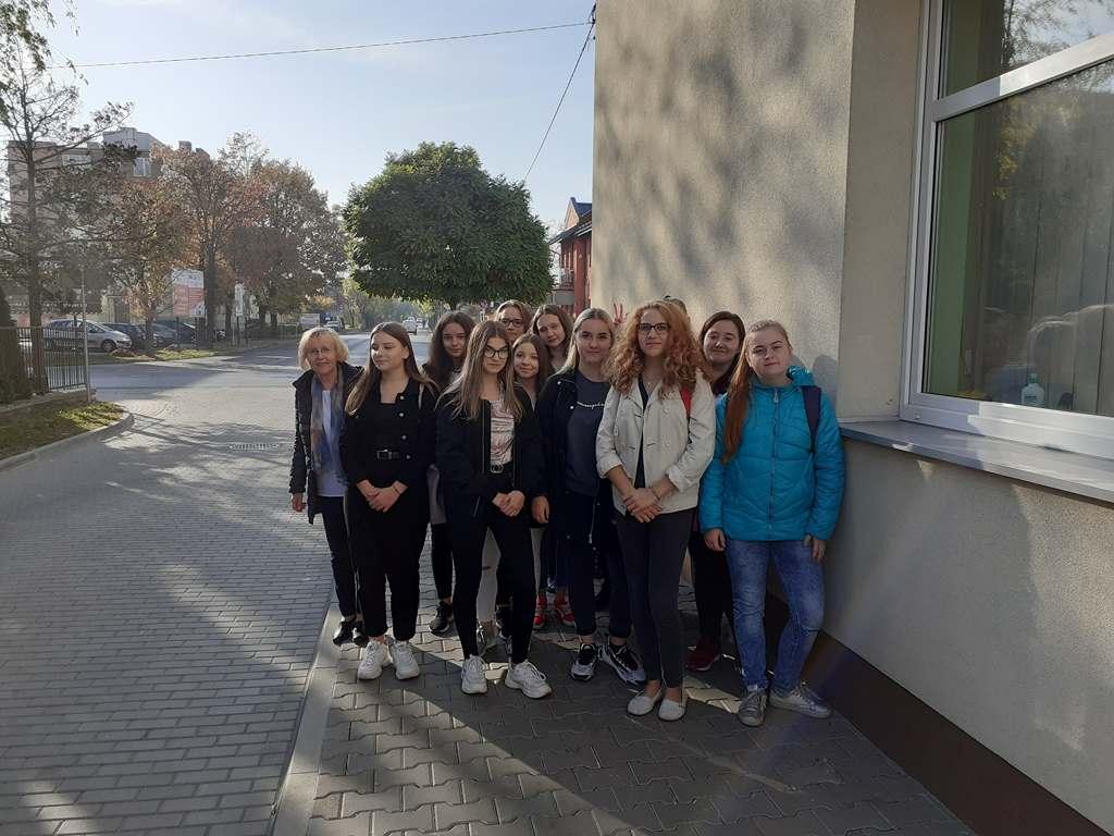 Ekonomiści na spotkaniu z pracownikami Inspektoratu ZUS w Lubartowie