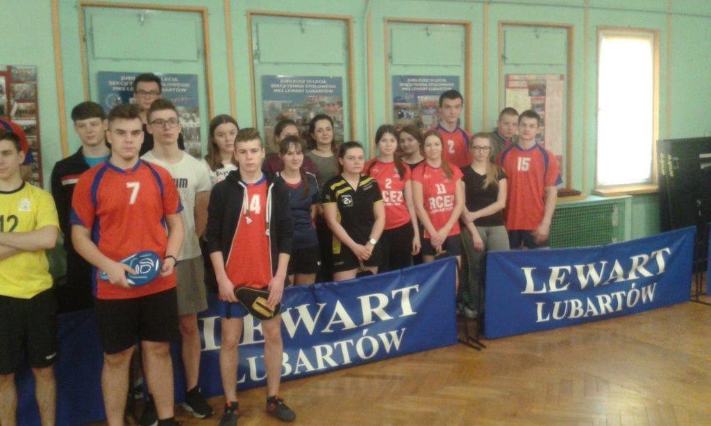 Indywidualne Mistrzostwa Powiatu w Tenisie Stołowym 2019