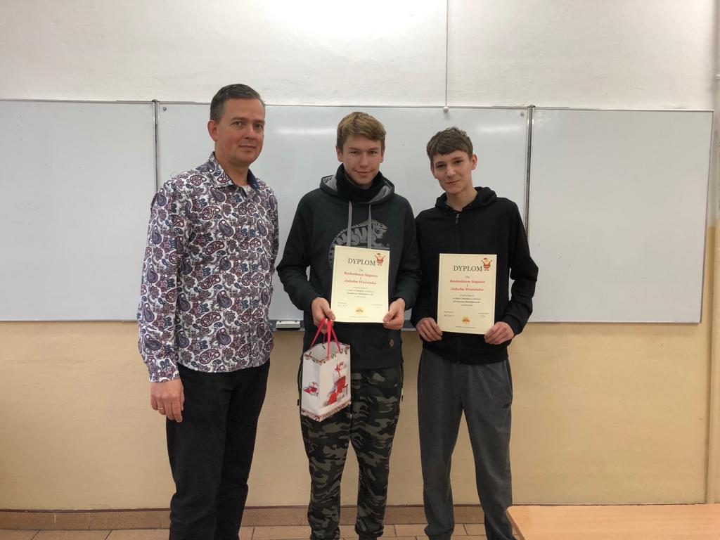 """""""Konkurs Mikołajkowy"""" z matematyki"""