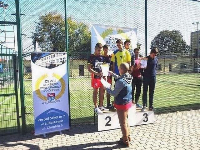 Liga Lekkoatletyczna – drugie miejsce drużyny chłopców