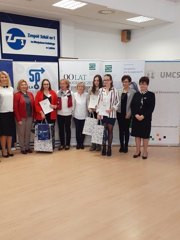 Magdalena Podleśna finalistką Wojewódzkiego Konkursu Wiedzy z Rachunkowości