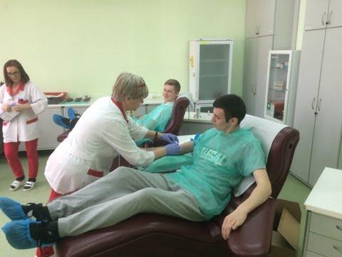 Nasi uczniowie chcą pomagać, dlatego oddają krew