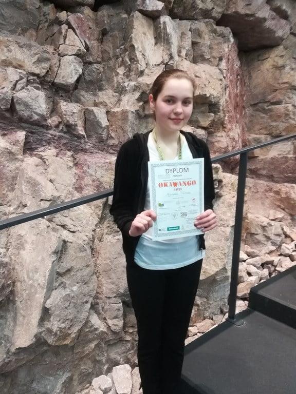 Nasza uczennica Magdalena Podleśna finalistką OKAWANGO