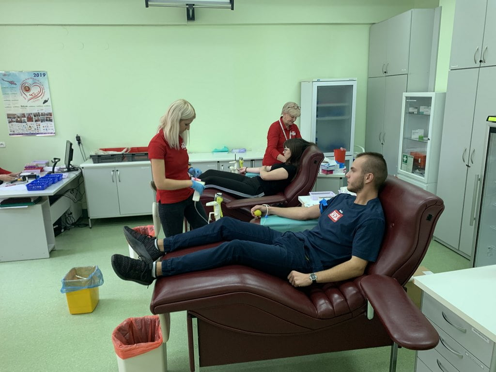 Oddając krew ratuję życie, a Ty?