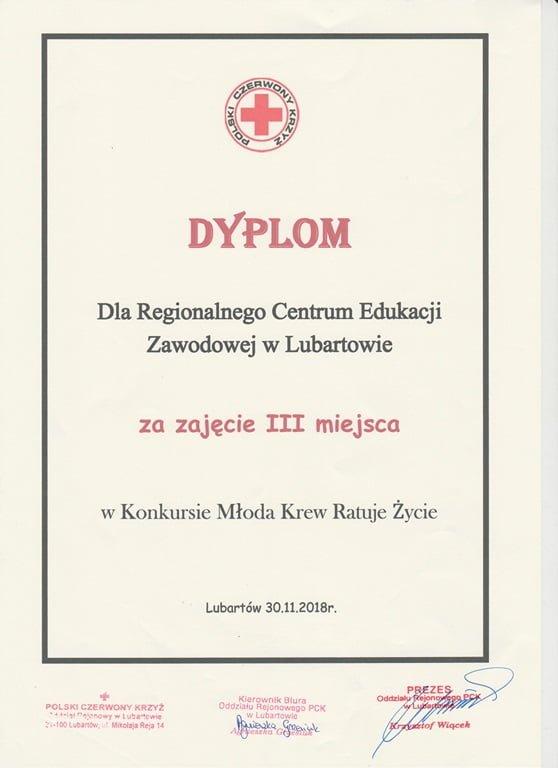 """Rozstrzygnięcie Turnieju """"Młoda Krew Ratuje Życie"""" 2018"""