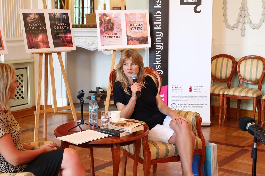 Spotkanie autorskie z Joanną Jodełką