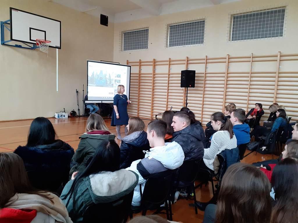 Spotkanie z panią Prodziekan Wydziału Ekonomicznego UMCS w Lublinie