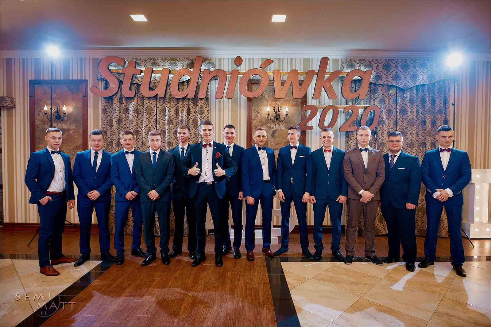 Studniówka 2020 (Zdjęcia udostępnione przez Semimatt.pl)