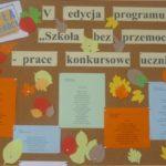"""""""Szkoła bez przemocy"""" - prace konkursowe uczniów"""