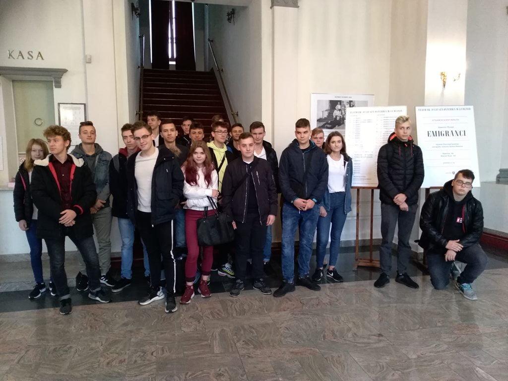 Uczniowie RCEZ z wizytą w lubelskim teatrze