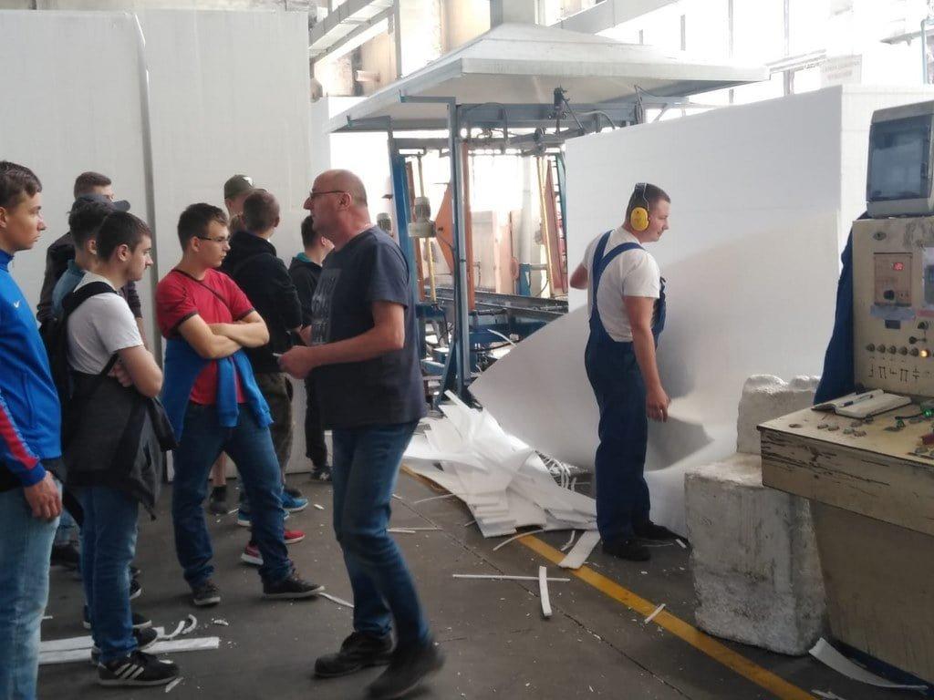 Wycieczka do zakładu produkcyjnego Solbet