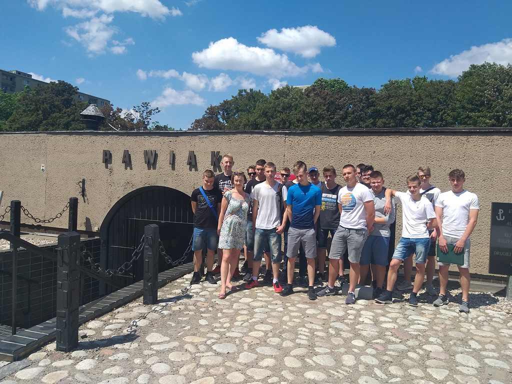 Wycieczka klasy 1TM do Warszawy