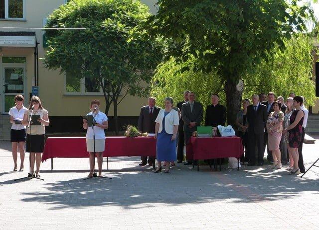 Zakończenie roku szkolnego najstarszych klas ZSZ nr 1