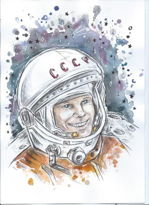 """Sukces Klaudii Kęski w ogólnopolskim konkursie """"Jurij Gagarin - pierwszy człowiek w kosmosie"""""""